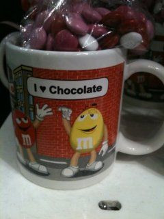 Love Chocolate Mug with Candy: Kitchen & Dining