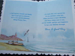 21st BIRTHDAY CARD ~ WITH FABULOUS VERSES ~ Choice of great designs ...