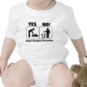 Diaper Changing Instructions by teewitbaby