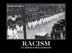 Racism Is A Position Of The Oppressor Who Has The Power.