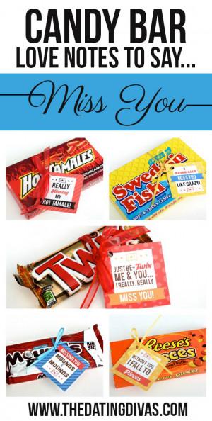 U No Candy Bar Clever I Love You Quot...