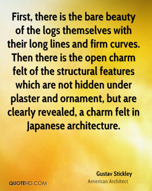 Gustav Stickley Beauty Quotes
