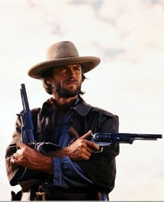 Clint Eastwood as Josey Wales in The Outlaw Josey Wales. More