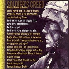 , Army Strong, Military Leadership Quotes, American Soldiers Quotes ...