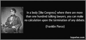 More Franklin Pierce Quotes