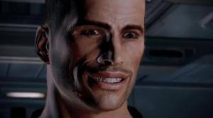 Commander Shepard's Trademark Smile