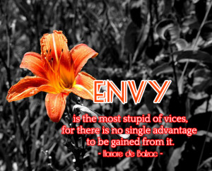 jealousy and envy quotes