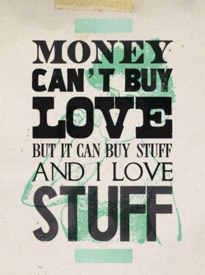 Who doesn't love stuff?