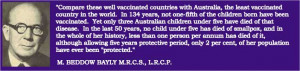 Smallpox vaccine failure quotes