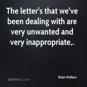 Unwanted Quotes