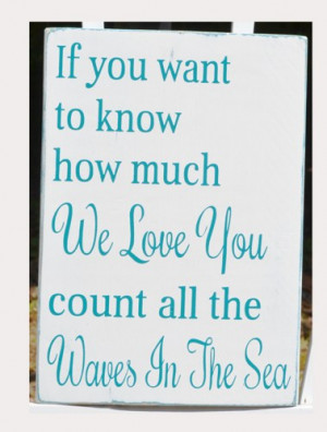 Beach Wedding Sign Personalized Wedding Decor The Beach Is Our Happy ...