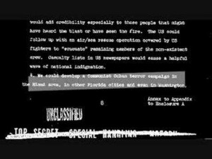 Declassified documents showing a proposal called