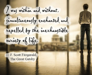 Great Gatsby Quotes Loneliness Gatsby quote about loneliness.