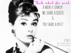 ... quote and you share a post! Writers Bloggers Word Lovers Women's Words