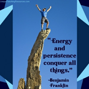 Energy quotes - quote - quotes - energy and persistence conquer all ...