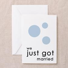 We Just Got Married Cards (Pk of 10) for