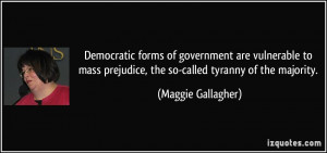 More Maggie Gallagher Quotes