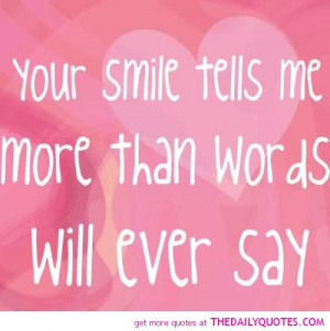 your smile poems