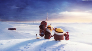 Minions In Winter Snow Weather Images, Pictures, Photos, HD Wallpapers