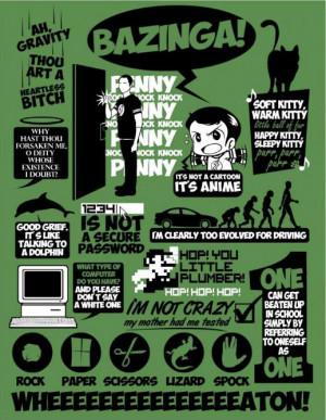 Best of Sheldon Cooper Quotes.