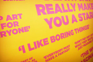 Andy Warhol Quotes No. 1 by JEDW