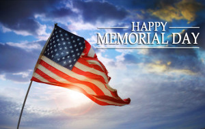 Happy Memorial Day, and for those of you who get the day off from work ...