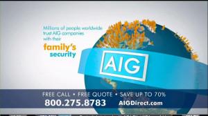 AIG Direct TV Spot, 'Quotes' - Screenshot 7