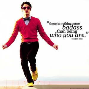 blaine anderson, darren criss, glee, quotes, typography