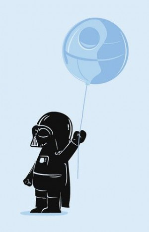 quotes/prints/art/funny / baby darth vader cutest ever!