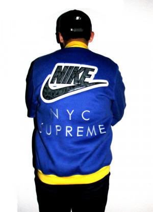 supreme varsity jackets