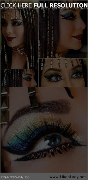Cleopatra makeup