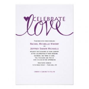 Love Quotes For Wedding Invitations. QuotesGram