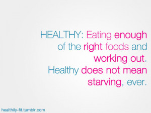 Healthy Food Quotes Tumblr ~ A Long and Healthy Life - Inspirational ...