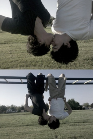 Xante Riveiros [: •O.O• :] Emo boys kissing :D
