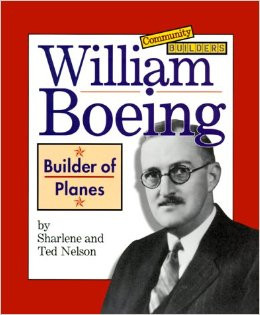 William Boeing delivering first international mail Photograph