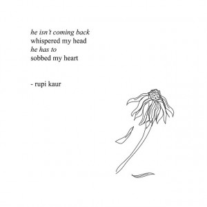 Love Notes from Rupi Kaur's book, milk and honey
