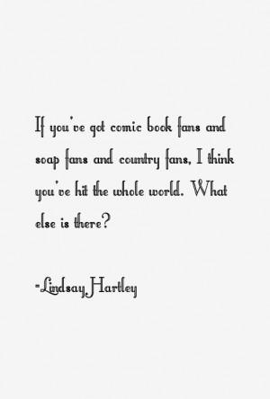 Lindsay Hartley Quotes & Sayings