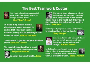 Teamwork quotes monday morning quotes saturday september