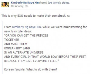 Kpop Fangirl Quotes She's my cousin, the kpop