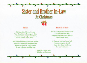 Sister And Brother In Law Quotes