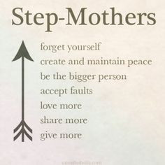 The House of Oceans - Encouragement For Stepmothers
