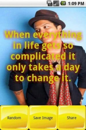 View bigger - Bruno Mars Quotes and Images for Android screenshot