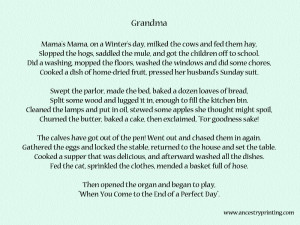 grandmother poem rip grandma poems rip poems3 grandmother poem poetry ...
