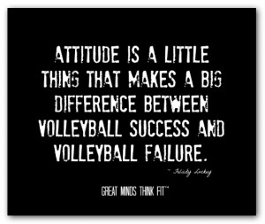 Motivational Volleyball Quotes and Sayings
