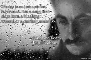 Labels Kahlil Gibran Quotes