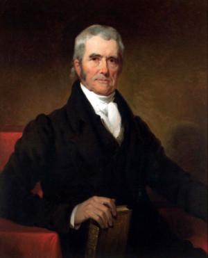 John Marshall* (September 24, 1755 - July 6, 1835) - In office January ...