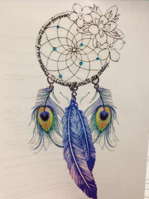Like The Dream Catcher Part But Def No Peacock Feathers Idk About The ...