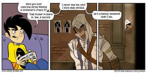 Assassin's Creed 3 Comic Strip