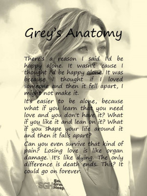 , Greys Anatomy Quotes Meredith, Greys Quotes, Fall Apartments Quotes ...