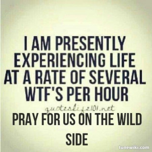 Lyric Art of Wild Side by Motley Crue